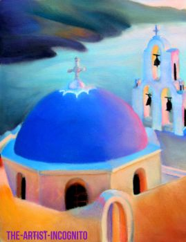 Blue Domes and Places to Go by The-Artist-Incognito