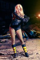 Black Canary 3 by Freakinblack