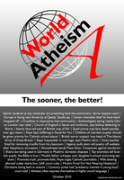 World Atheism by DailyAtheist