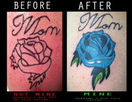 38th Tattoo (Before and After) by Vibrace