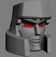 Megatron WIP by GeneralSoundwave
