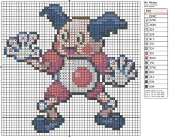 122 - Mr. Mime by Makibird-Stitching