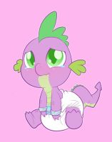 Bad Little Baby Dragon by Hourglass-Sands