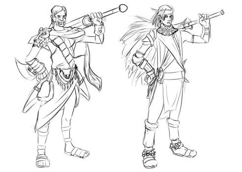 Indie indios concept 02 by Rhesyuzz