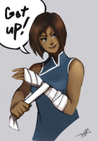 Thank you Korra by ACicco