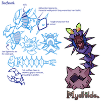 Mydhilde: Reefwark Concept Sheet by The-Knick
