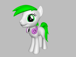 .:Gift:. grassdy oc's 3d by luckreza8