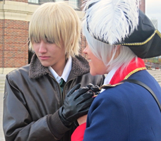 APH Cosplay-Prussia/England-Keep you warm by nursal1060