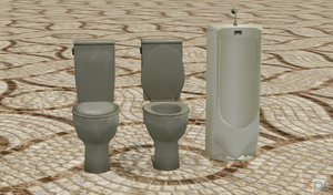 item toilet (daibenki) by agekei