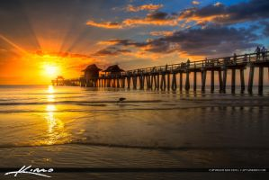 Naples-Florida-Sunset-at-Pier by CaptainKimo