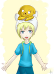 Finn and Jake by SirANarchy95