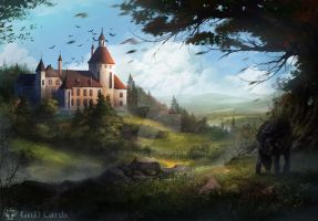 Castle by Tira-Owl