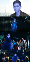 Logan Lerman - Blueberry Inflation by juicemebelly
