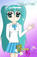 Hatsune Miku in ''Lonely Heart'' by ToOn-Blue96