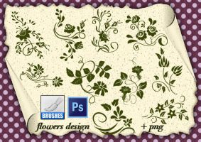 Flowers Design by roula33
