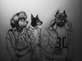 dogs by AtMyHeart