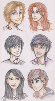 The TMI Teens by Deesney