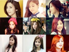 Nine Pictures of Chorong Collage by supremepanda