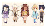 Constellation Adoptables  [open !] by yumeuu