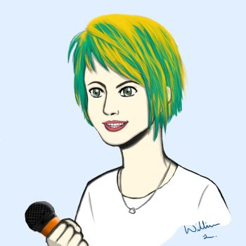 Hayley Williams practice 1 by Willdabeef