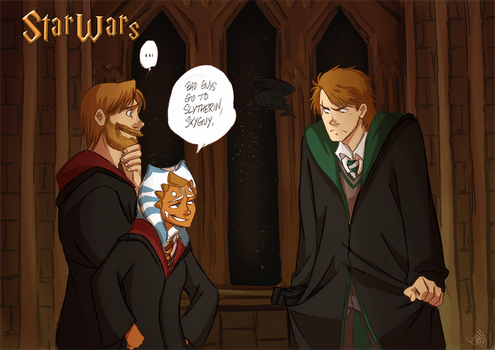 SW - Bad Guys Go To Slytherin by Renny08
