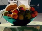 Bowl of Fruit by serbus