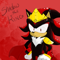 Shadow the King by SilverRiku