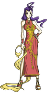 Collab: Chinese Dress by DaSpec