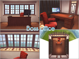 Boss Office by kaahgomedl