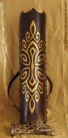 Quiver and archery glove by Fantasy-Craft