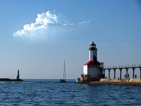 Michigan City Lighthouse by Foozma73