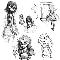 alice sketches by onthefritz