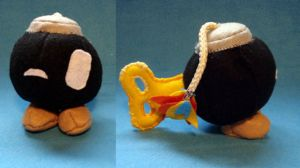 Bob-omb plush by Beckylynne