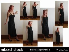 Black Magic Pack 2 by mizzd-stock