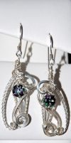Mystic Earrings by ChatNoir13