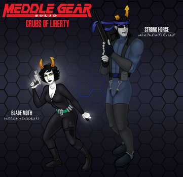 Meddle Gear Solid by Puddum