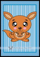 Kawaii Kangaroo by martagd