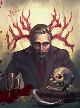 Hannibal Lecter by SolDevia