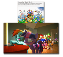 A SMB movie by Sony Reaction by IcePony64