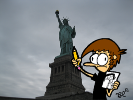 Statue of Liberty by austoon