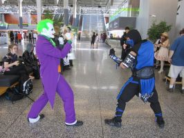 MK vs DCU: The Joker vs Sub-Zero by DarkErmac15