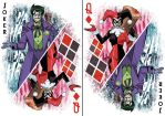 Joker/Harley card by MikeLuckas