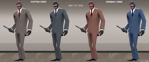 TF2 Custom Spy Skins by SKMike