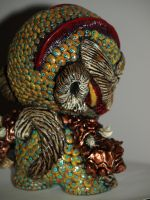 Munny Skrill Side View by VILORIA-ARTS