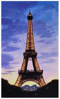Eiffel Tower by spoof-or-not-spoof