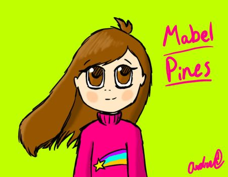 Mabel Pines by Ask-Minish-Scarlet