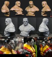 Colossus legendary scale bust by mojette