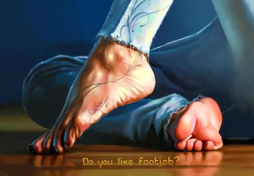 Sexy foot by fear-sAs