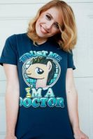 Doctor Whooves T-shirt by TibsisTops