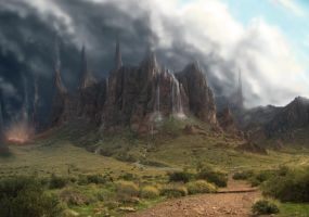 experimental mattepainting by xpe